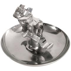 Mack Truck Hood Ornament Bulldog Cigar Ashtray