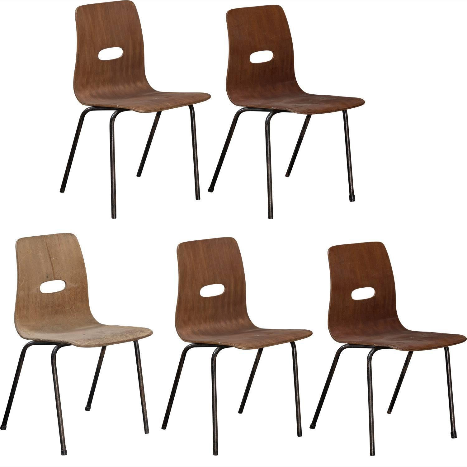 stak chairs by robin day circa 1950 for sale at 1stdibs