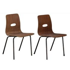 Q Stak Chairs by Robin Day, circa 1950