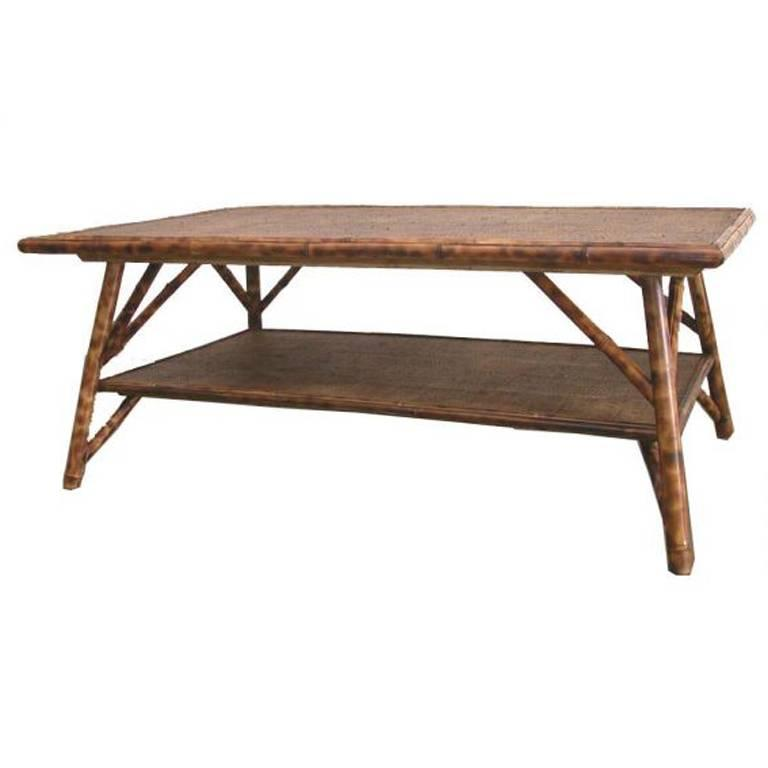 Jefferson West Bamboo Coffee Table