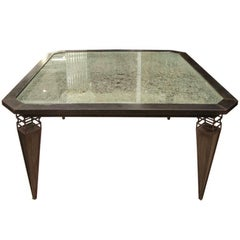 Bespoke Kuramata Inspired Modern Industrial Italian Dining Center Table / Desk