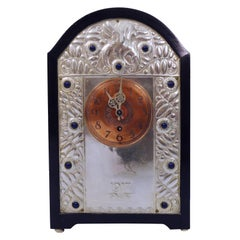 Finely Worked Secessionist Mantle Clock
