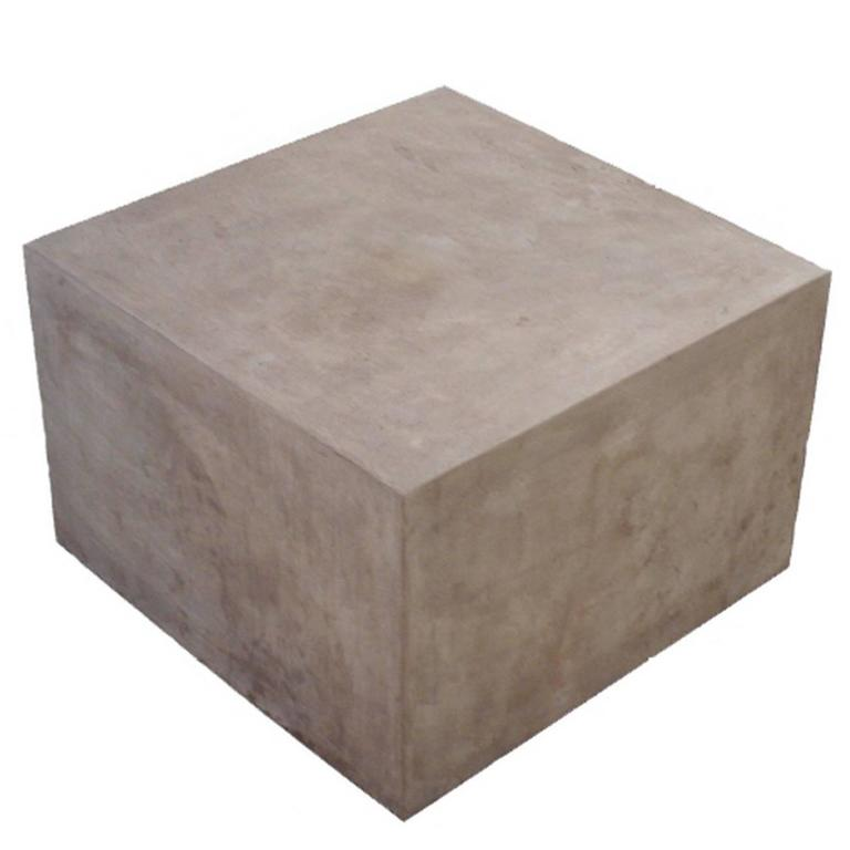 Concrete Block Cocktail Table For Sale At 1stdibs