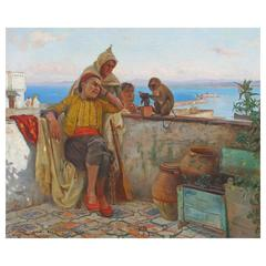 Orientalist Oil Painting