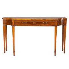 Very Elegant English George III Style Console Table