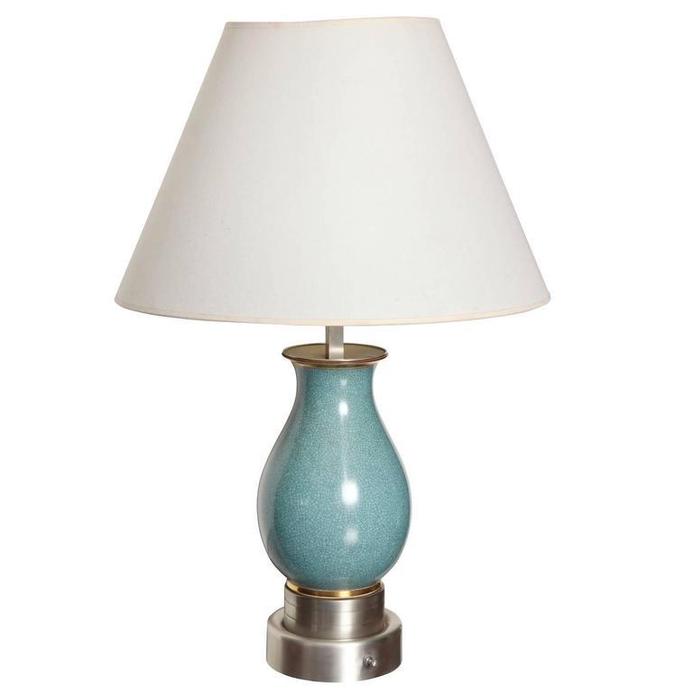 Custom Table Lamp by Paul Laszlo