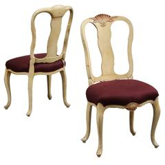 Pair of Syrie Maugham Dining Chairs