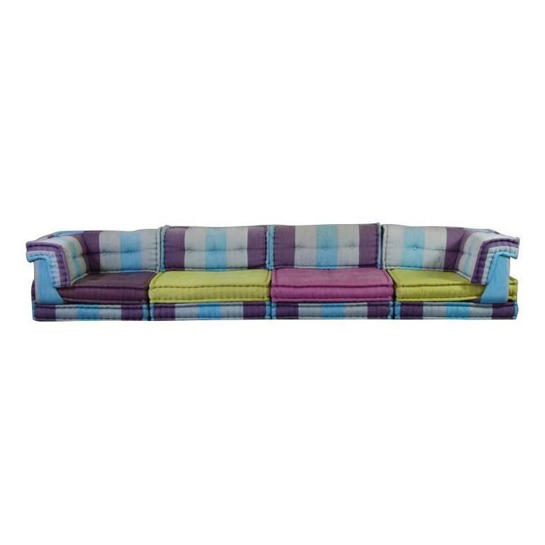 Modular sofa group by roche bobois at 1stdibs for Roche bobois italia
