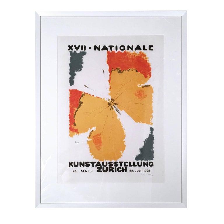 Augusto Giacometti Art Exhibition Poster