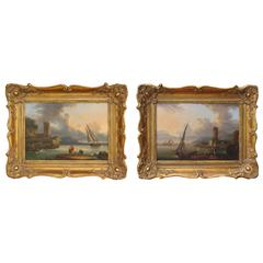 18th-19th Century Pair of Paintings