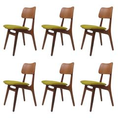 Eight Kofoed Larsen Danish Teak Dining Chairs