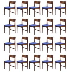 Paul Cadovius Danish Teak Dining Chairs