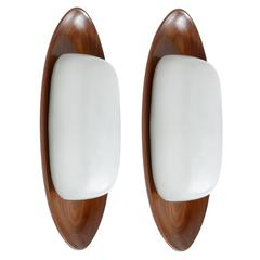 Big Pair of Wall Lights by Reggiani, 1960s