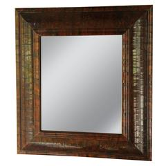 Exquisite 18th Century English Rosewood Mirror with Removable Arched Top