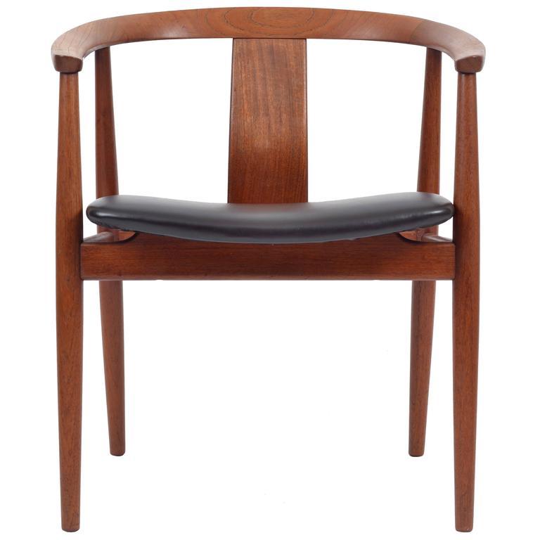 Danish Chair by Gustav Bertelsen for Edvard and Tove Kindt-Larsen