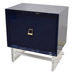Navy Lacquered Twenty Twenty Stands