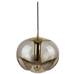 Extra Large Biomorphic Hanging Pendant Light/Lamp by Peill & Putzler, circa 1970