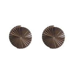 Pair of Small Fan Sconce Sculptures by Fabio Ltd