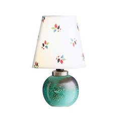 French Vintage Ceramic Table Lamp