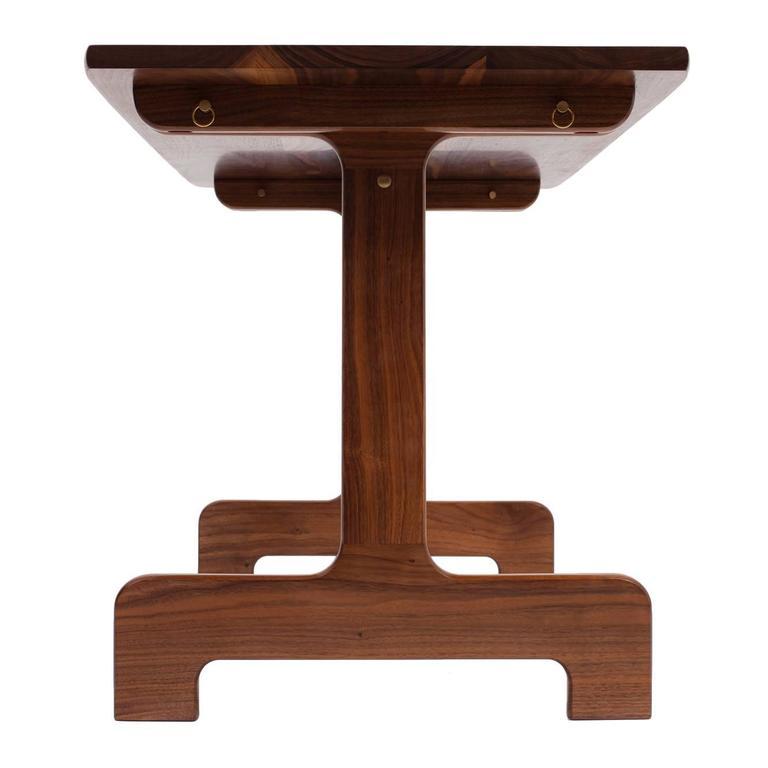 Asa Pingree Physalia Desk in Walnut, White Oak, Ebonized Maple, or Fog Gray Ash 1