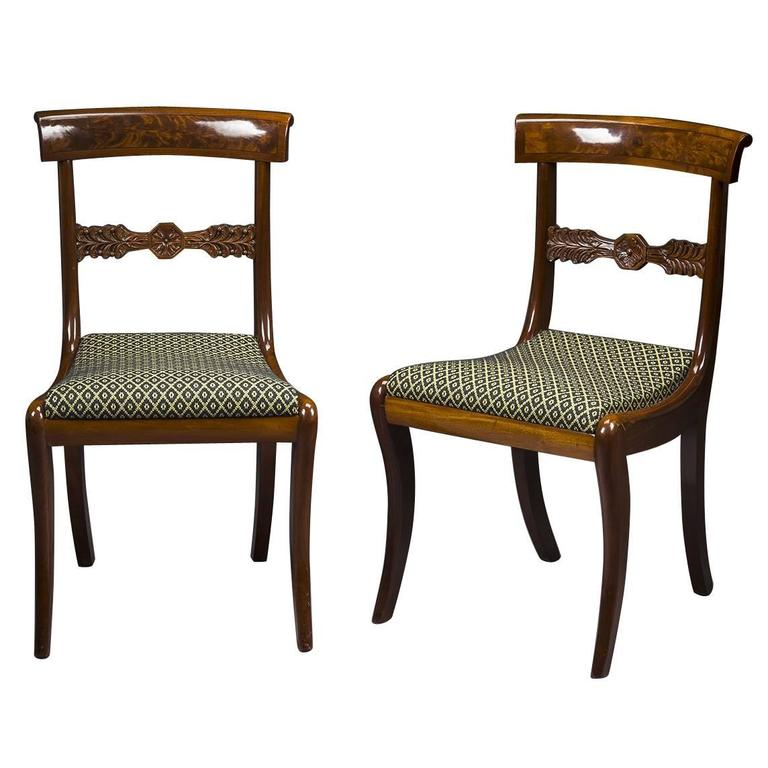 Set Of Twelve Neoclassical Dining Chairs For Sale At 1stdibs