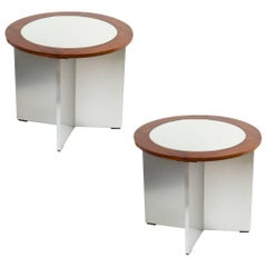 Rare Modernist Side Table by Jansen, 1970s