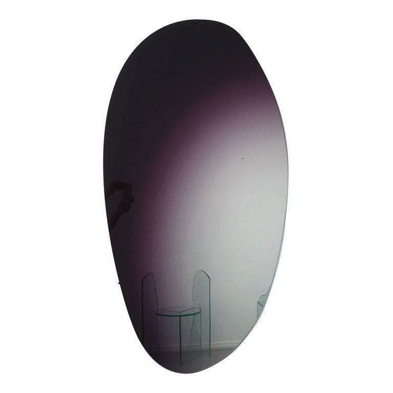 Off Round Hue Mirror #2, Wall Mirror by Sabine Marcelis