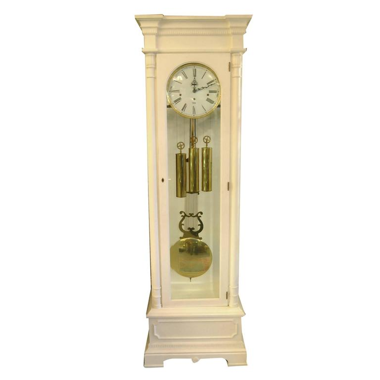 Sligh Trend Grandfather Clock Clic Dorset Model White For