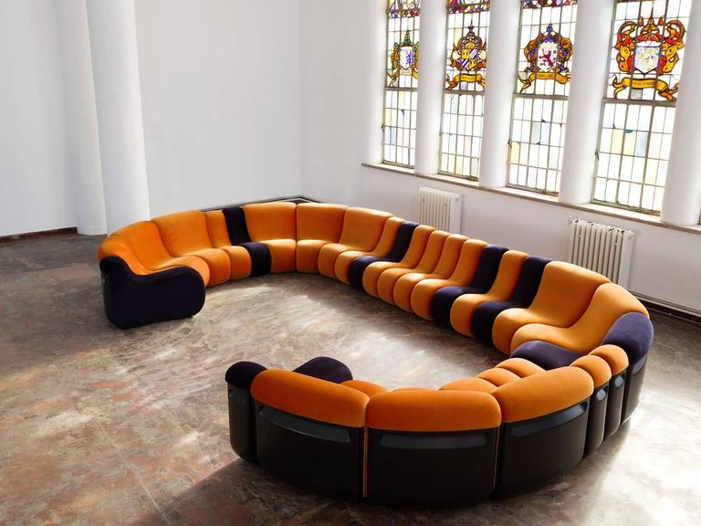Burkhard Vogtherr Extremely Large Sectional Sofa For