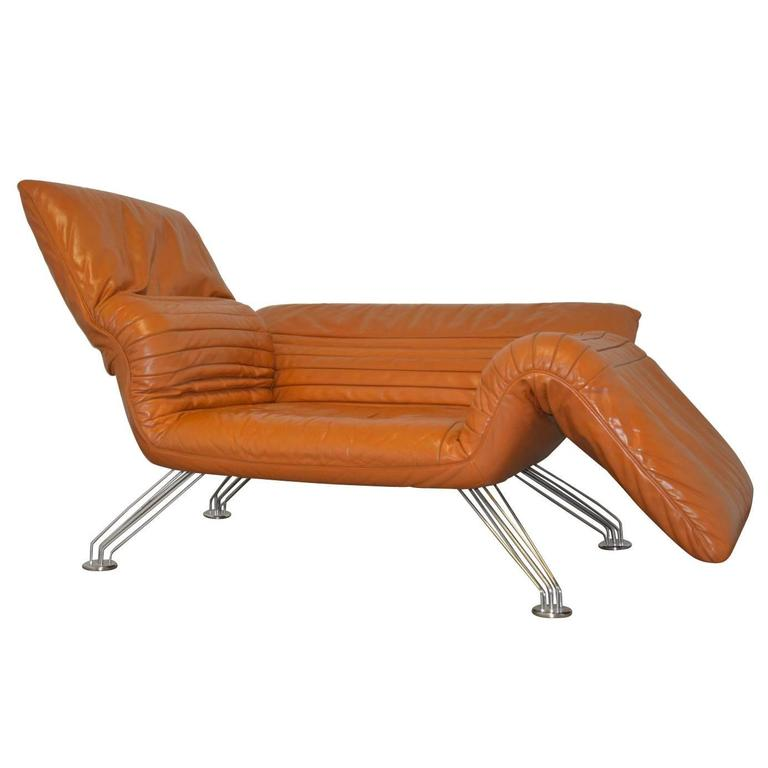 Vintage de sede sofa or chaise longue by winfried totzek for Antique chaise longue for sale