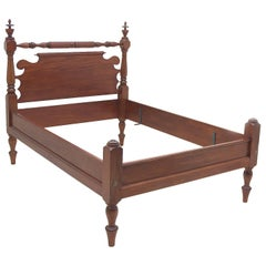 Bonnin Ashley Custom-Made Full-Size Cannonball Bed in Poplar