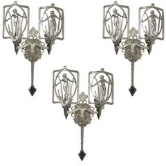 American Art Deco Sconce
