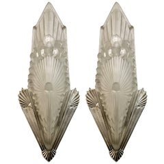Pair of French Art Deco signed by Schneider