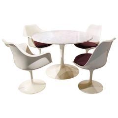 Restored Vintage Saarinen for Knoll Dining Set
