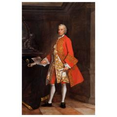 Portrait of the Hon. Augustus Townshend, by Andrea Casali, English, 18th Century