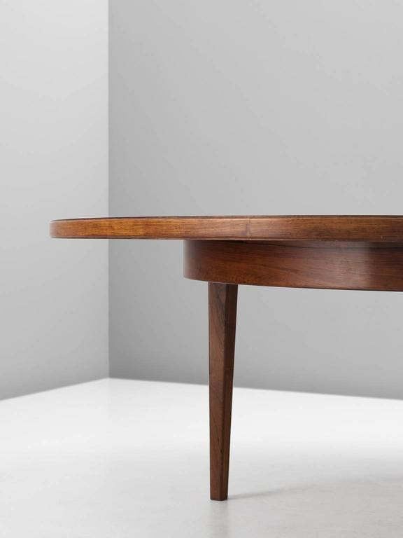 Large Cm Inches Round Conference Table In Rosewood For - Modern round conference table