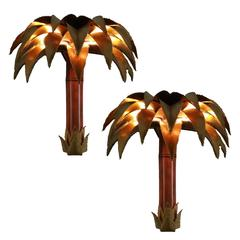 Palacial l Sconces by Maison JANSEN. 2 pairs available. Priced by pair