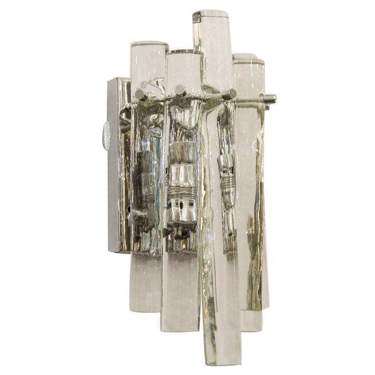 ice stick crystal wall sconces pairs available ebay cheap lighting