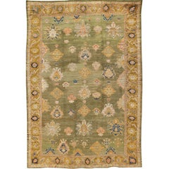 Outstanding Palace Size Antique Oushak Rug