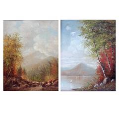 Autumn Landscape Oil Paintings