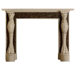 Pompeii Mantel by Tim Gosling for Chesney's in Statuary and Portor Marble