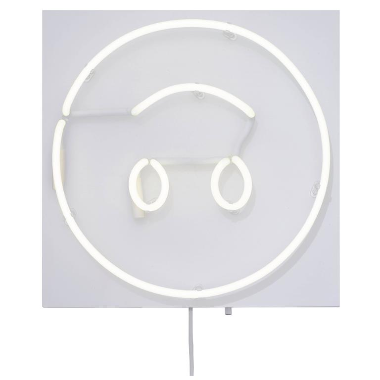 Fresh Faces for Inside Spaces Neon Wall Hanging by Lit, Alice Taranto (: style