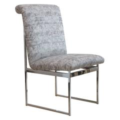Milo Baughman Set Of ten Dining Chairs