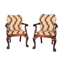 George III Style Armchairs