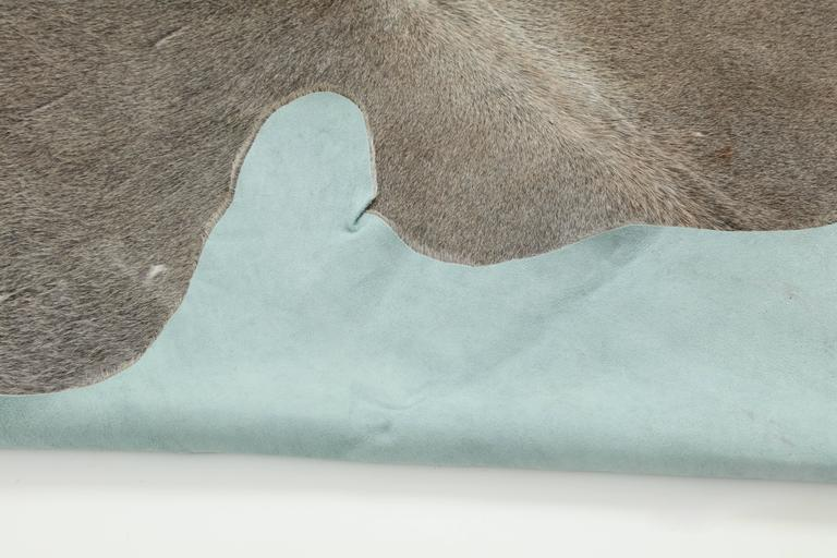 Contemporary Gray Brazilian Cowhide Rug, 2016 4