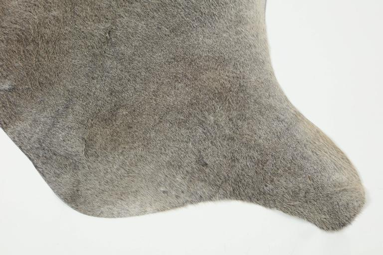 Contemporary Gray Brazilian Cowhide Rug, 2016 For Sale 1