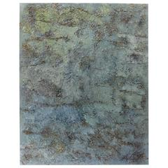 """My Malibu Blue"" Earthy and Textural Work by Ricardo Ramirez"