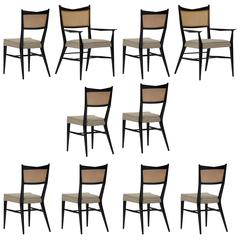 Ten Paul McCobb Irwin Collection Dining Chairs