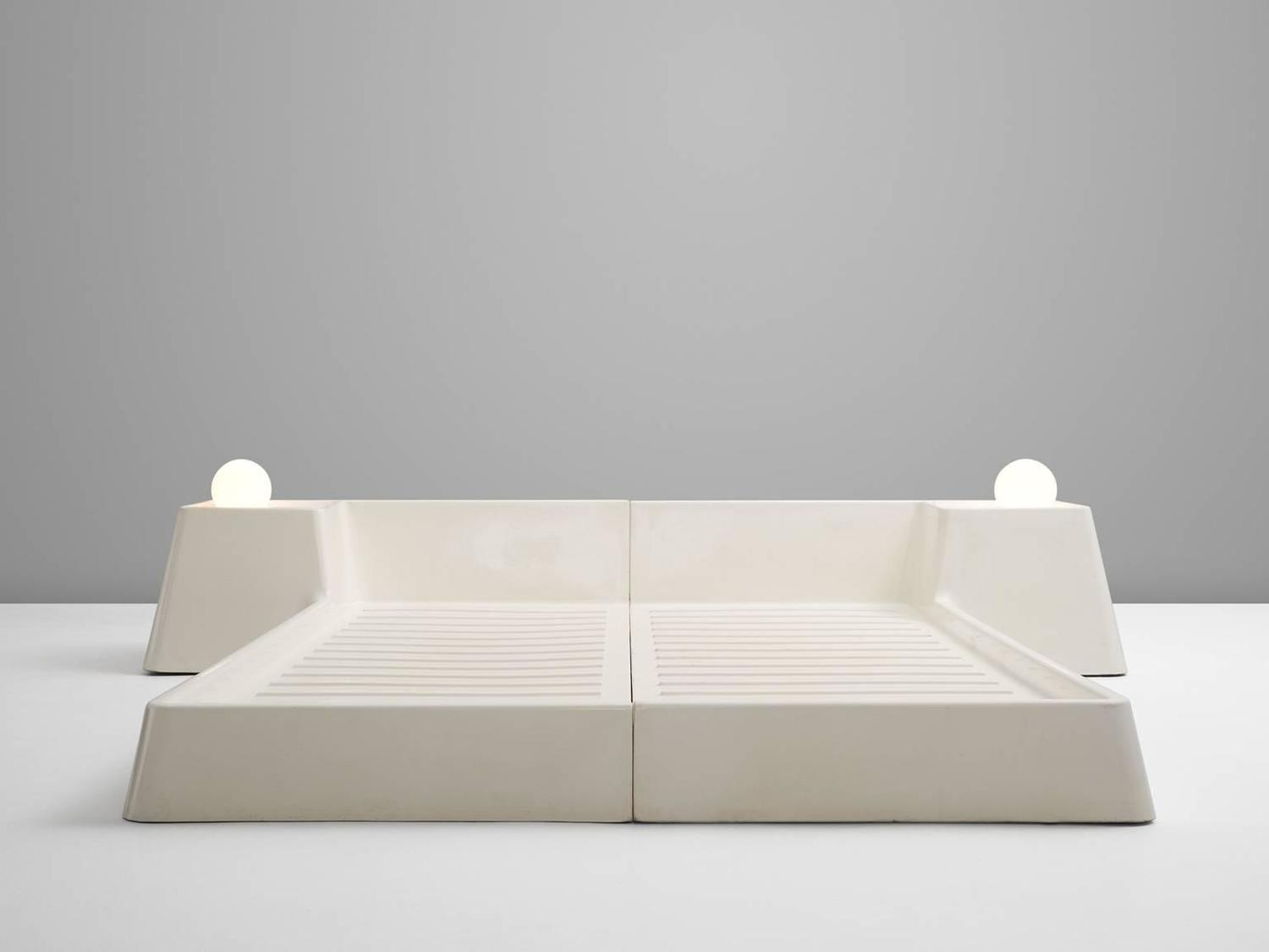 futuristic bed frame by marc held for prisunic for sale at