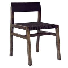 36 Chair w/ Leather Seat - Customizable finishes